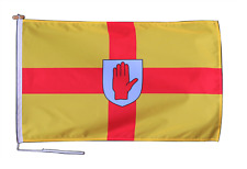 More details for ulster ireland flag with rope and toggle - various sizes