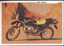 Genuine BMW R80GS (1991) Sales Brochure R 80 GS Boxer 800 Trailie Dakar >>>>