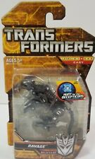 Transformers Hunt For The Decepticons HFTD Legends Series Ravage, Very Rare! NOC