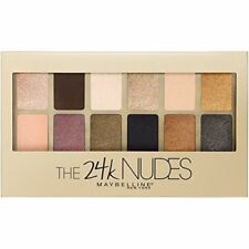 Maybelline THE 24K NUDES Eyeshadow Palette - Factory Sealed