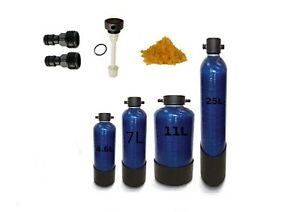 DI Pressure Resin Vessel Window Cleaning/Car Valeting With Fittings