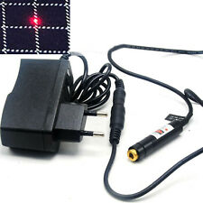 Focusable 650nm 660nm 80mW Red Dot Laser Diode Module Locator Lights w/Adapter
