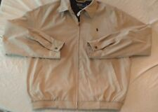 Size M Polo Ralph Lauren Windbreaker Jacket Blue Plaid Lining, Used, Nice!!