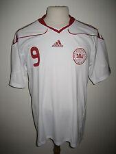 Denmark TOMASSON away DBU football shirt soccer jersey trikot maillot size XL