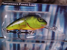 "Salmo 1 3/4"" Hornet H4S-HP Sinking in Hot Perch Lure for Walleye/Bass/Trout/Pike"