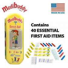 Medibuddy Children's Kids First Aid Travel On The Go Kit - 40 Items - YELLOW