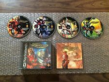 Legend of Dragoon (Sony PlayStation 1, PS1) Complete - Black Label