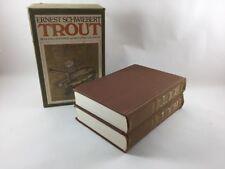Trout by Ernest Schwiebert 1978 FIRST Ed. Two Volumes Slipcase Dutton