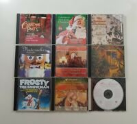 Christmas Music CD Lot of 9 Titles - SEE DESCRIPTION FOR TITLES