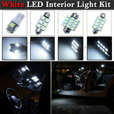 Newest LED Car Interior Light Bulbs Package Kit For Ford Mondeo MK4 IV -- White