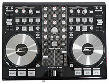 EPSILON PRO-MIX2 MIDI USB DJ Controller+Virtual DJ Software w/Soundcard  - Black