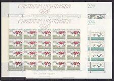ab 1945 Briefmarken aus Liechtenstein mit Postfrisch und Olympische Spiele