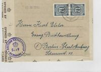 German Postal History Stamps Cover Ref: R4592