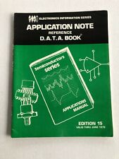 D.A.T.A. Semiconductor Reference Notes June 1979 70S Engineering Edition 15