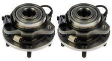 Dorman Front Wheel Hub Bearing PAIR / FOR 98-05 BLAZER JIMMY 2WD 4110416 x 2