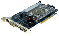 Point of View Nvidia Geforce 6200A VGA-6200-S1-256 AGP 256MB DDR2