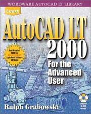 Learn Autocad Lt 2000 for the Advanced User - LikeNew - Grabowski, Ralph -
