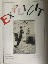 More details for explicit fanzine 1980s, the smiths, julian cope, tears for fears,thompson twins