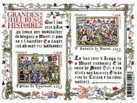 FEUILLET  F4704 LES GRANDES HEURES DE L' HISTOIRE DE FRANCE  2012   NEUF