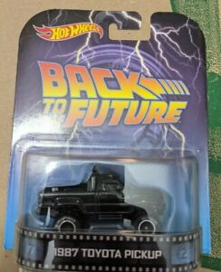 Hot Wheels Back to the Future 1987 Toyota Pick Up Truck