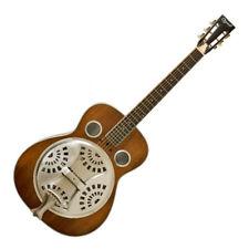 More details for ozark 3515dd wooden resonator guitar - distressed finish
