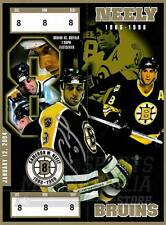 Cam Neely Boston Bruins Signed Autographed Vintage Banner Night Giveaway Ticket