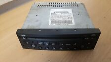 PEUGEOT 206 CC 1.4 HDI (2004) CLARION CAR STEREO CD PLAYER 96552632XT