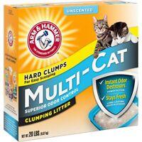 Arm & Hammer Multi Cat Clumping Litter, 20 lbs.