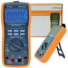 Mercury High Accuracy True RMS Digital Multi-Tester With USB Interface BNIB