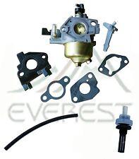 Carburetor With Gaskets Insulator Fuel Filter & Line For Honda GX240 8HP