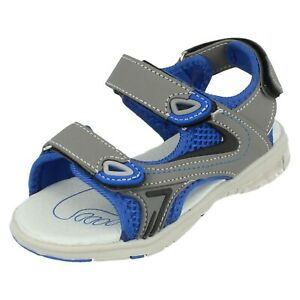 Boys Reflex Hook And Loop Fastening Casual Summer Sandals N0R055
