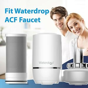 Pack of 6 Waterdrop NSF Certified Replacement Filters for ACF Faucet Filtration