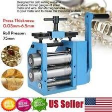 Manual Combination Rolling Mill Machine Metal Jewelry Press Tableting Tool