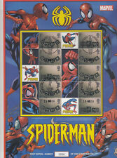 BC-030 - Spiderman Smilers Sheet - fine used