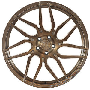 """20"""" Rohana RFX7 Brushed Bronze Concave Wheels for Mercedes"""