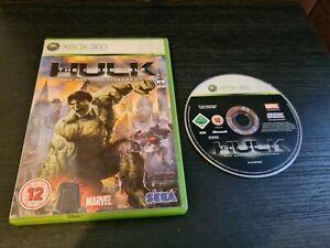 The Incredible Hulk (Xbox 360) GC. Free P+P. FAST DISPATCH.
