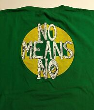 Vintage Nomeansno Small Parts Isolated & Destroyed Album Graphic Tee XL XLNT
