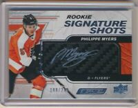 2019-20 UD Engrained Rookie Signature Shots AUTO Philippe Myers /249 Flyers