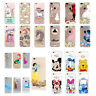 Cute Unicorn Transparent Slim Silicone Case Cover For iPhone 5S SE 6S 7 Plus