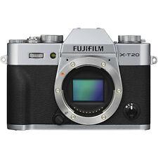 Fujifilm x-t20 Argent Boîtier/Body (sans objectif) B-Ware Neuf xt20