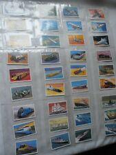 World of Speed 1981 Embassy Wills Set of M36 Cards in Plastic Sleeves Good cond.