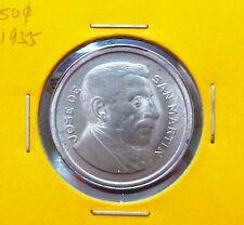 B108 - Argentina 50 Cents coin 1955 - UNC