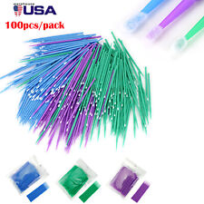 100 500 Dental Disposable Micro Applicator Brushes Tooth Applicators Micro Brush