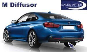 Original BMW F32 F33 F36 M Diffusor für M Heckstoßstange Heckblende 435i 440i