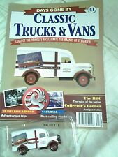 DAYS GONE BY CLASSIC TRUCKS AND VANS NUMBER 41 VAUXHALL