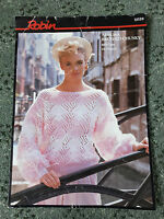 "Robin Aurora Brushed Chunky Ladies Sweater knitting pattern 34"" - 38"""