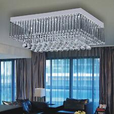 Modern Luxury Crystal LED Lighting Ceiling Light Pendant Drop Lamp Chandeliers