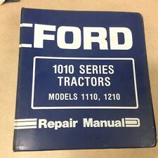 Ford New Holland 1110 1210 Tractor Service Shop Repair Manual Book Guide Se4300