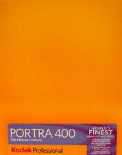 """Kodak Portra 400 5""""x 4"""" Film - finest grain 400 Negative film"""
