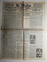 N457 La Une Du Journal Le Matin 18 mars 1917 une grande victoire